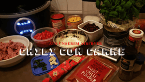 Airfryer chili con carne